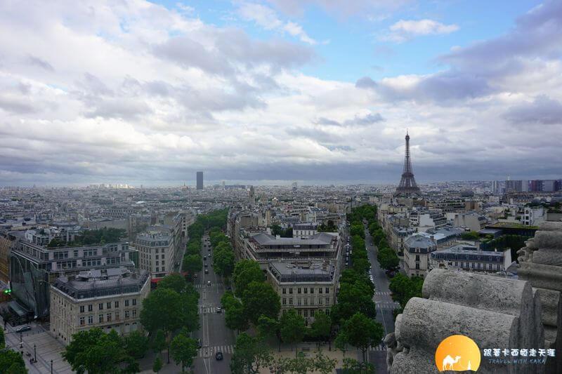 凱旋門觀景台 Arc de Triomphe