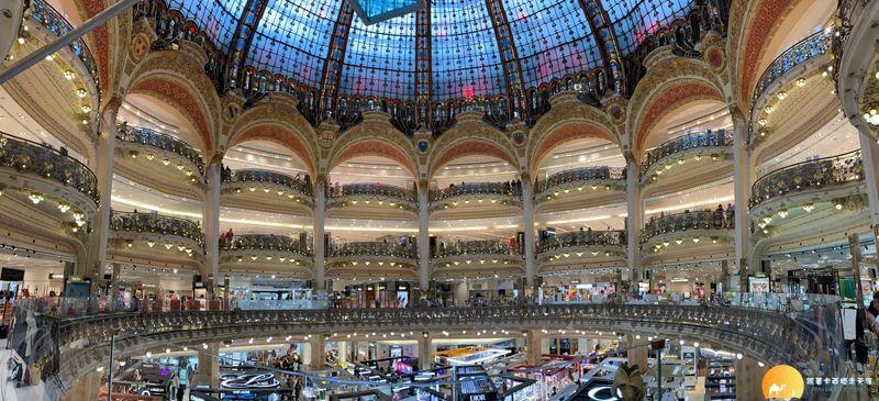 拉法葉百貨 Galeries Lafayette Haussmann