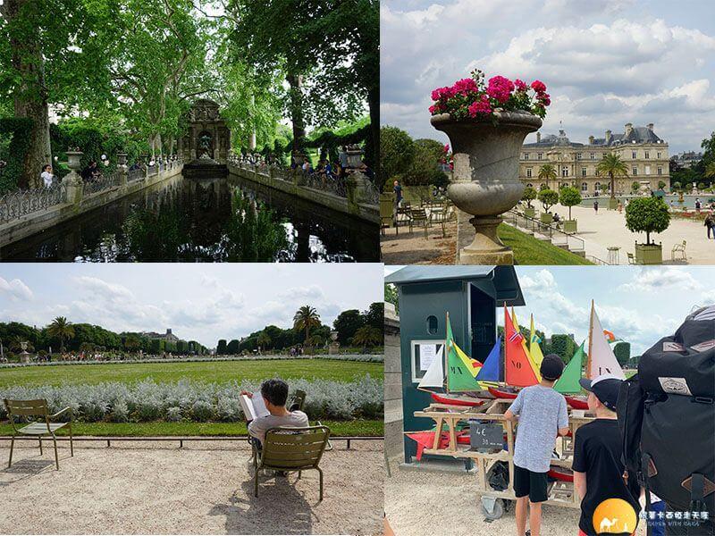 盧森堡公園 Jardin de Luxembourg