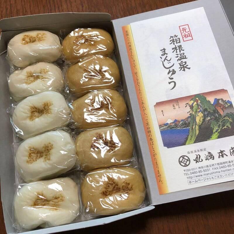 元祖箱根溫泉饅頭