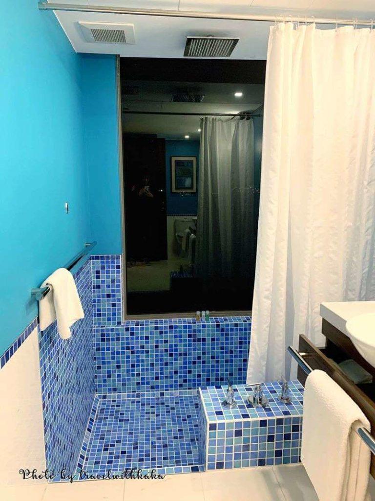 愉景灣酒店浴缸